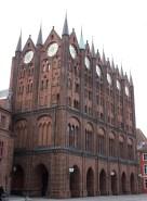 Rathaus aus einem anderen Winkel