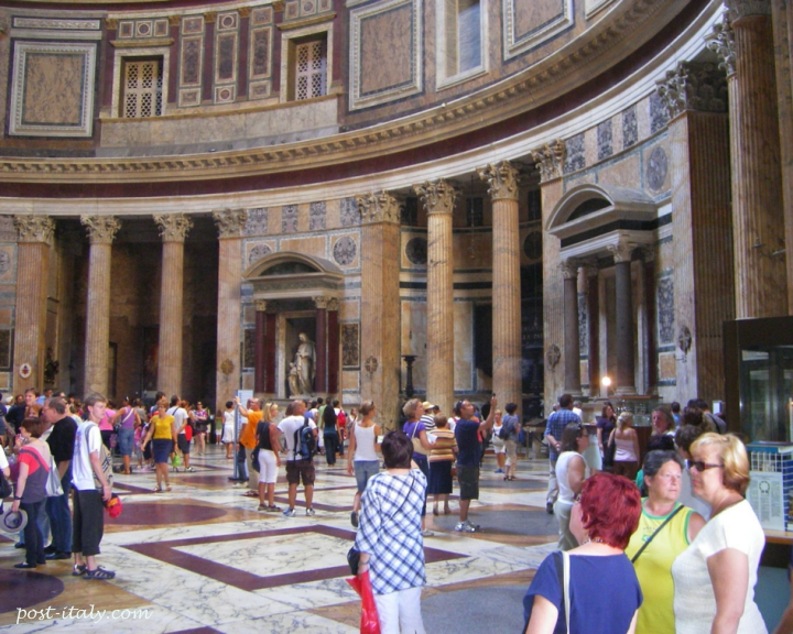 pantheon na cidade de Roma