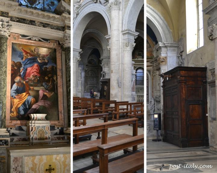 interior igreja santa maria del popolo