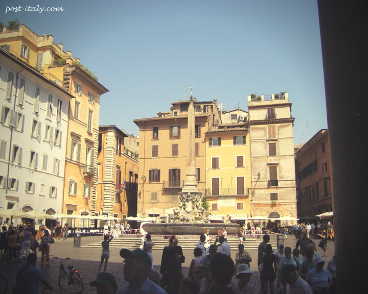 Piazza della Minerva em Roma