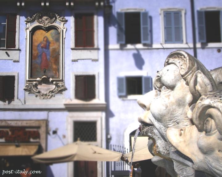 praças de Roma: Piazza della Minerva