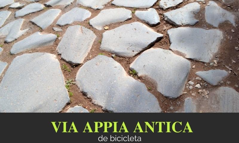 via apia em roma, itália