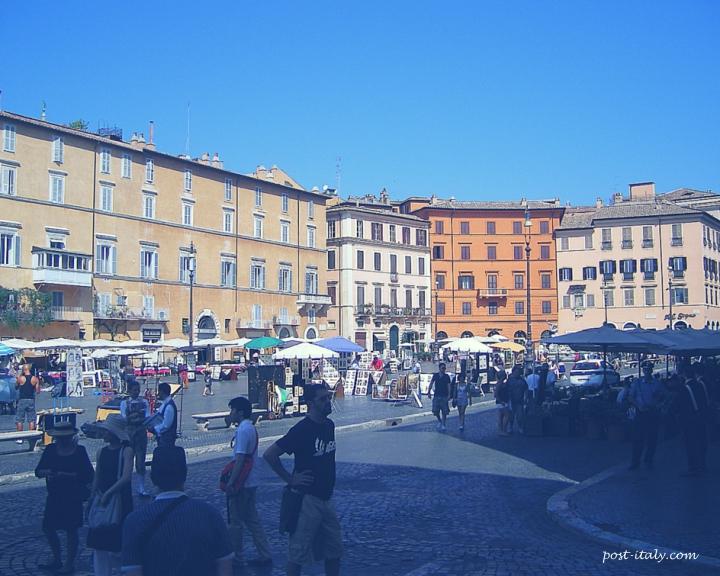 piazza navona, cidade de roma