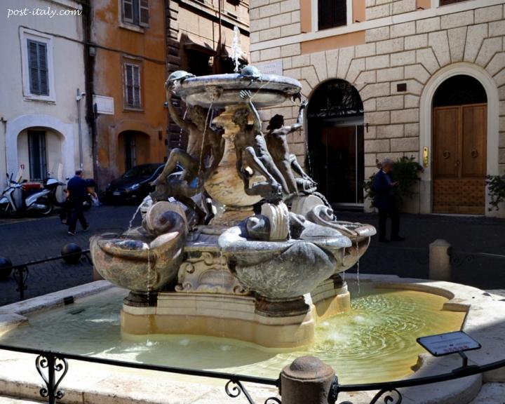 fontana delle tartarughe