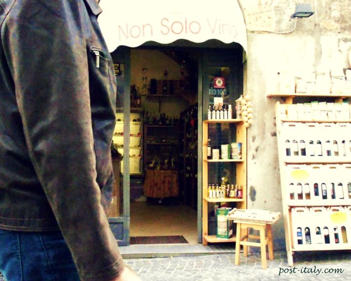 enoteca em Orvieto