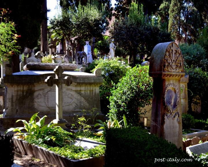 cemitério monumental em Roma
