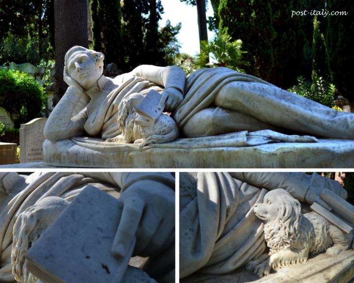 cemitério no bairro romano de Ostiense