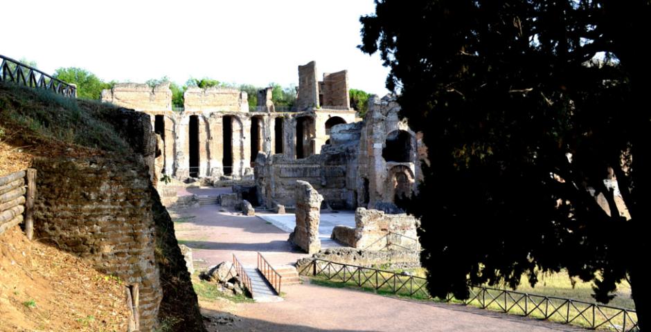 villa adriana, tivoli, roma
