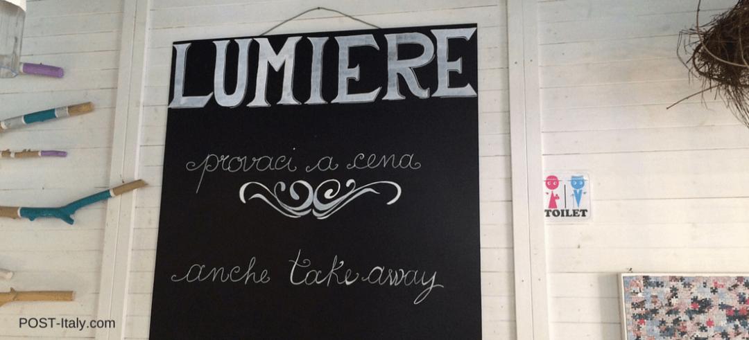 dicas de Roma: cafeteria Lumière