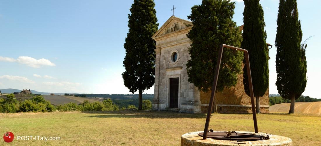 igrejinha toscana: Madonna della Vitaleta