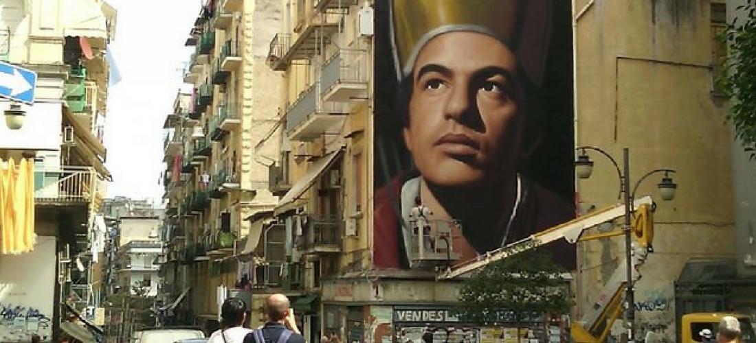 milagre do sangue de San Gennaro em Nápoles, Itália