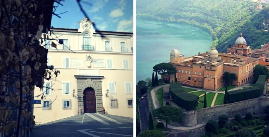 palácio pontificio de Castel Gandolfo, Italia