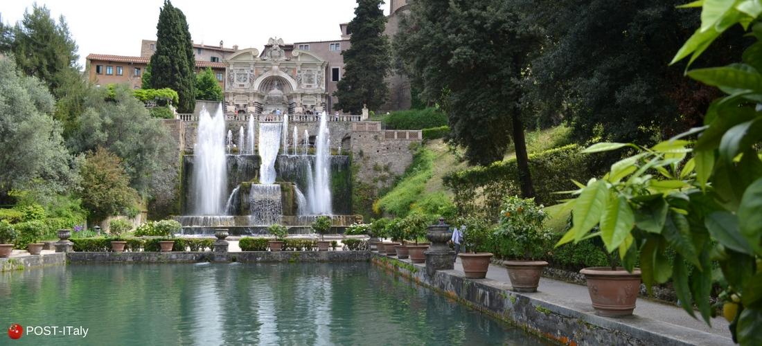 Villa d´Este em Tivoli, Roma