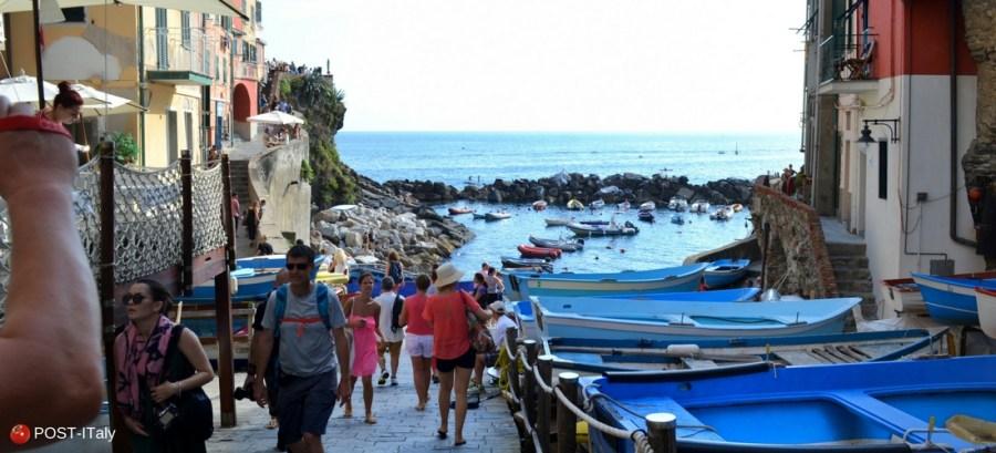 Cinque Terre na Itália