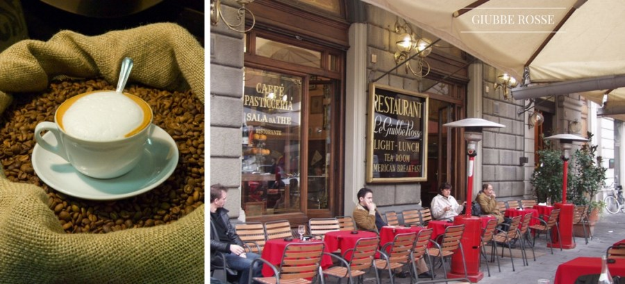 cafeterias na Itália