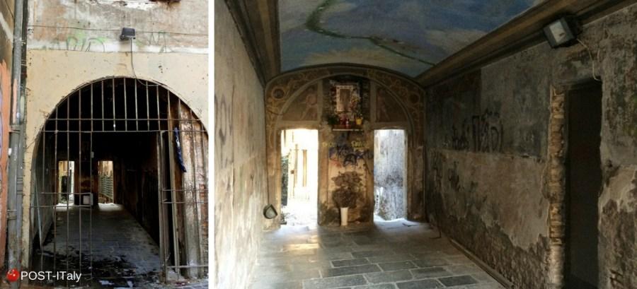 Arco di Grottapinta, Campo de´Fiori