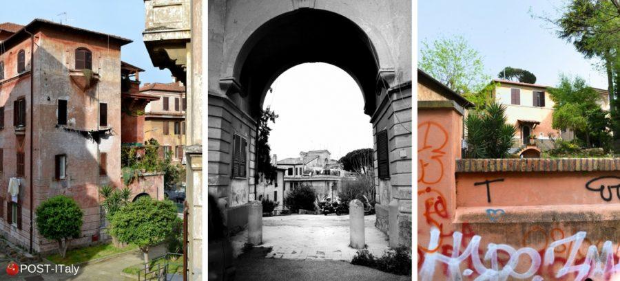 bairro da Garbatella em Roma