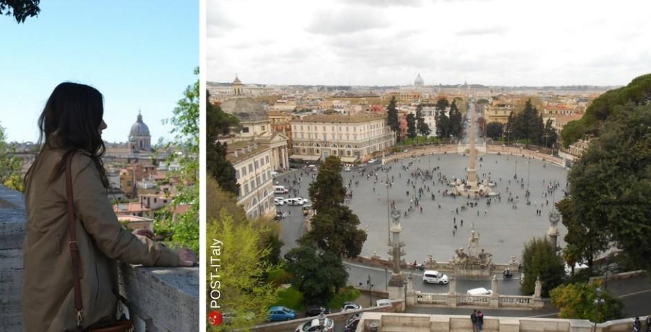 terraço do Pincio em Roma