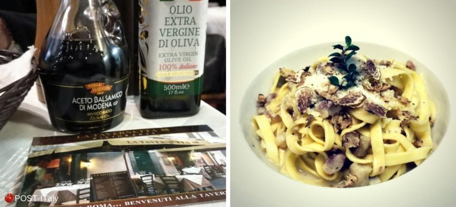 lugar para comer em Roma