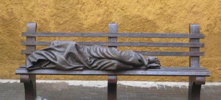 Jesus clochard, Vaticano