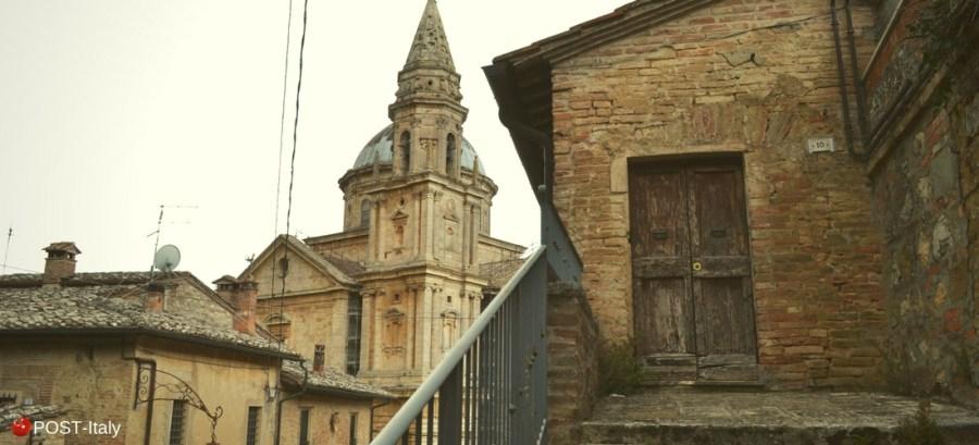 Tempio di San Biagio em Montepulciano, Toscana