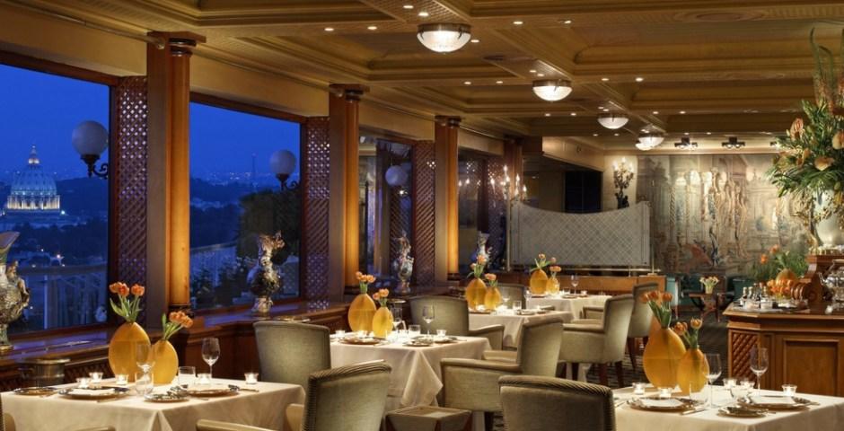 restaurantes com vista em Roma