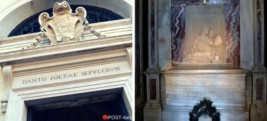 Ravenna, Toma di Dante