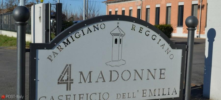 fábrica queijo Parmigiano Reggiano, Itália