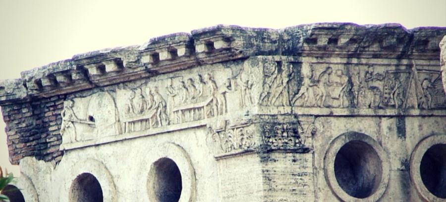Tomba di Eurisace em Roma, Itália