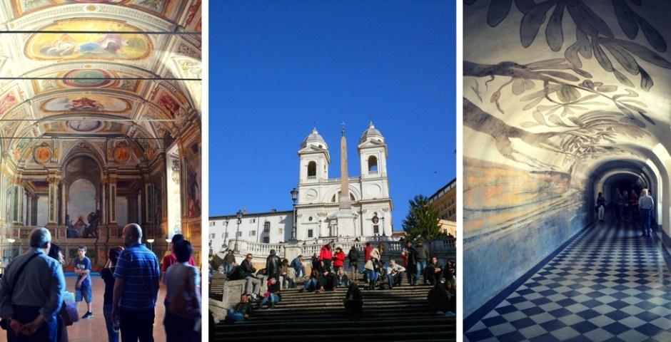 Convento de Trinità dei Monti em Roma