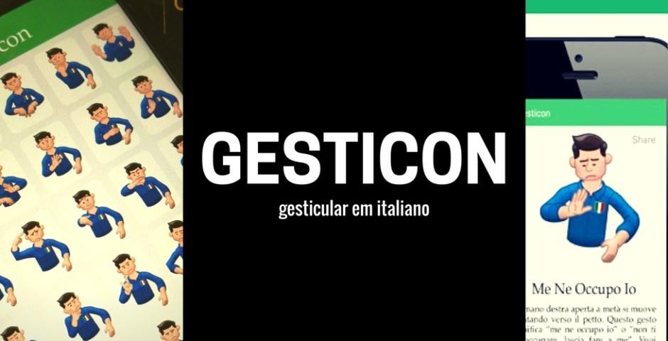 gestos em italiano