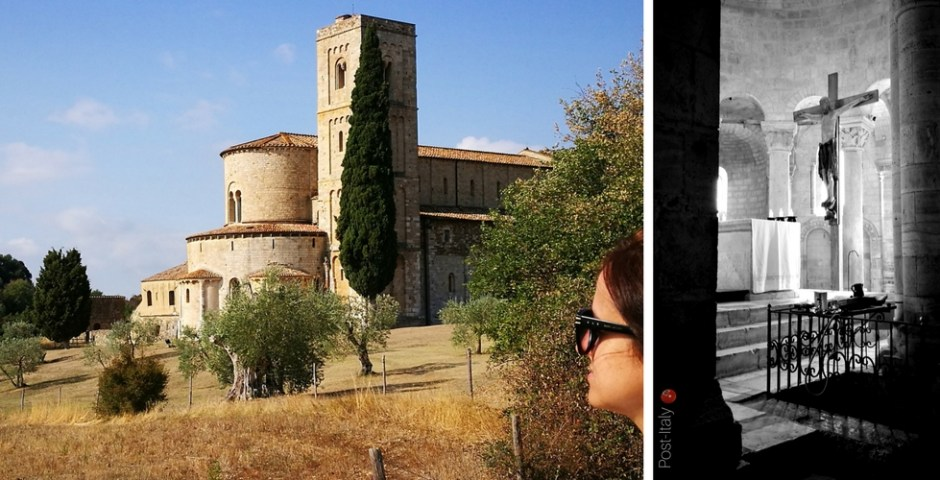 Abadia deSant'Antimo na Toscana