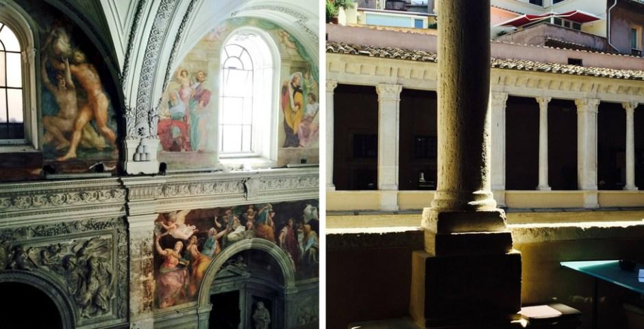 Chiostro del Bramante em Roma