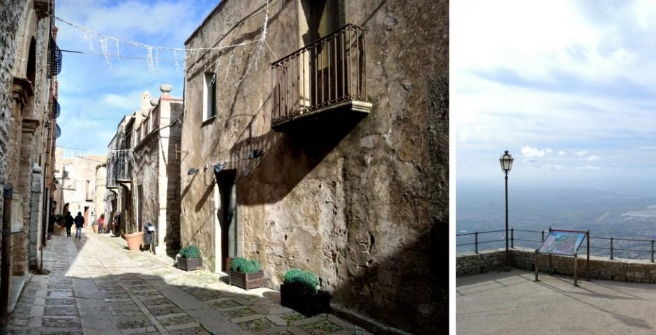 Erice, cidade medieval na Sicília