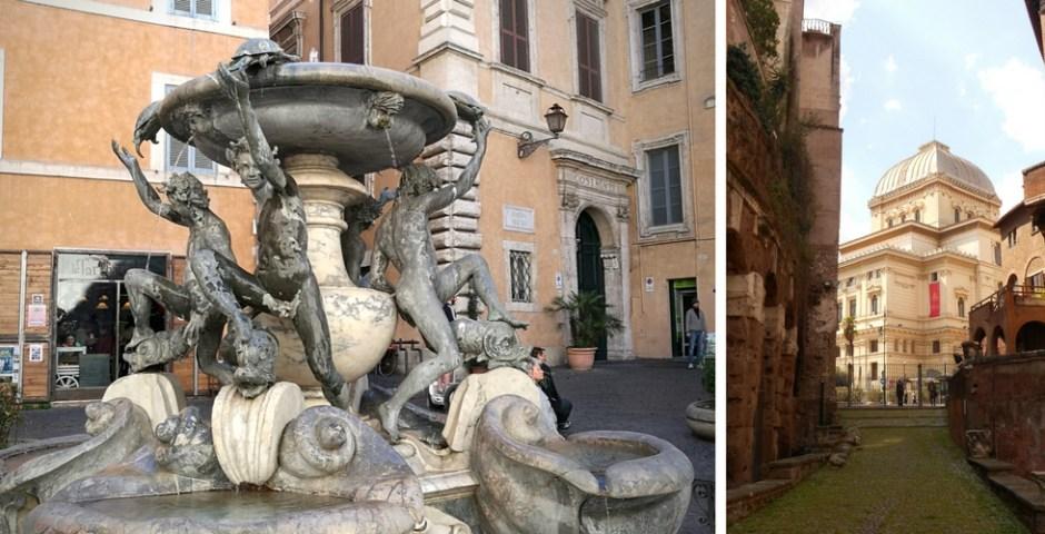 passeio pelo gueto de Roma