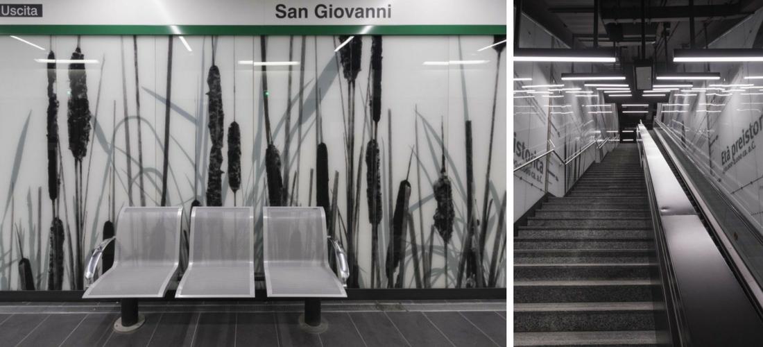 Viagem no tempo: a nova estação San Giovanni da linha C do metrô em Roma