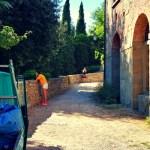 como hospepdar-se em um castelo ou casar na Toscana