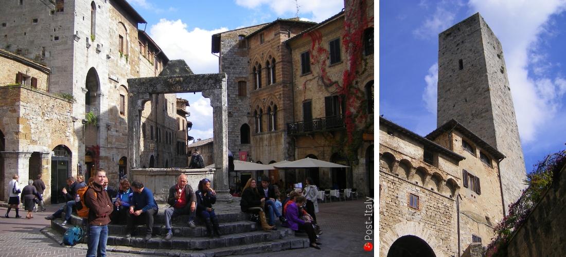 """San Gimignano, a cidade das torres e """"Manhattan"""" medieval da Toscana"""