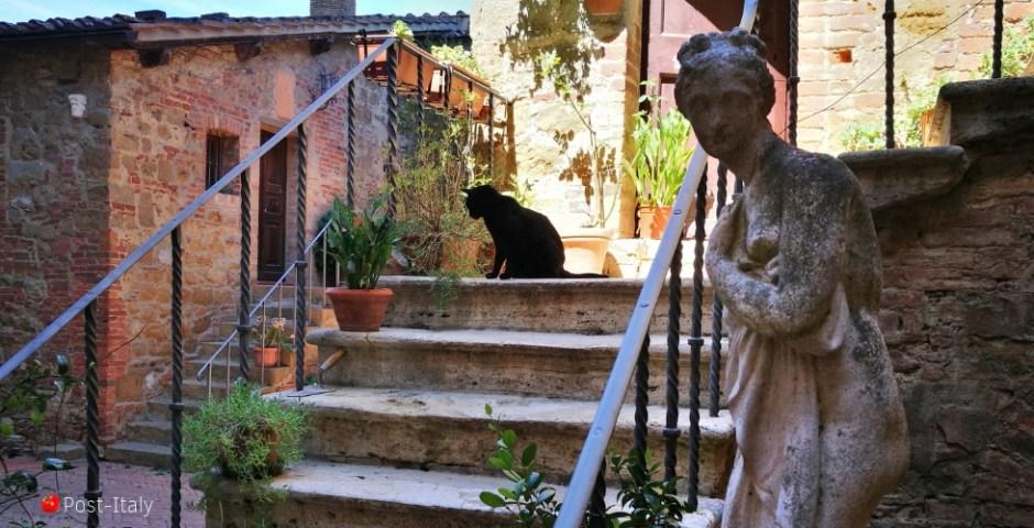 hospedagem diferente na Itália
