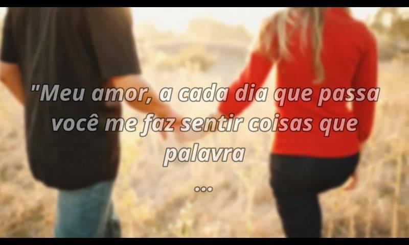 Meu Amor, Cada Dia Que Passa Eu Te Amo Ainda Mais!