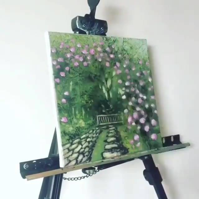 Arte De Pintar Em Telas