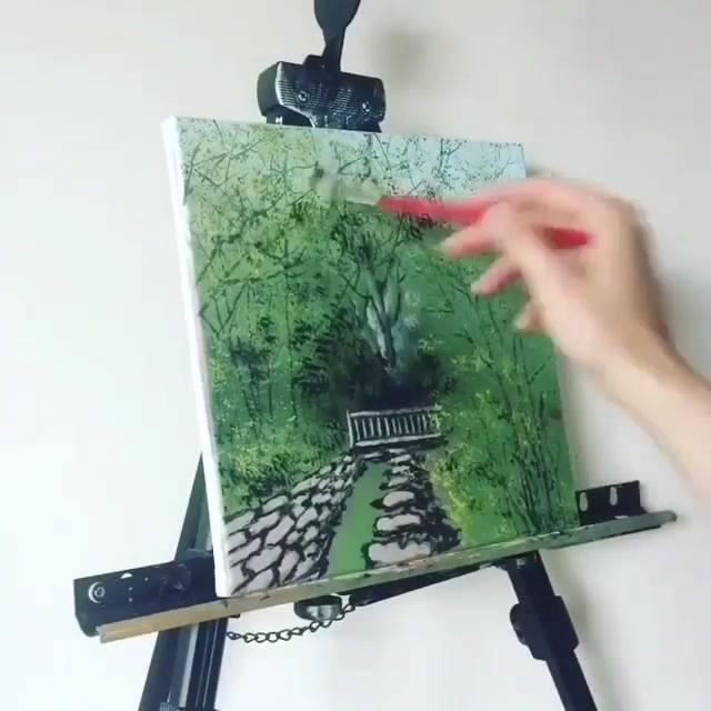 Arte De Pintar Em Telas, Uma Técnica Maravilhosa, E Simplesmente Lindo!!!