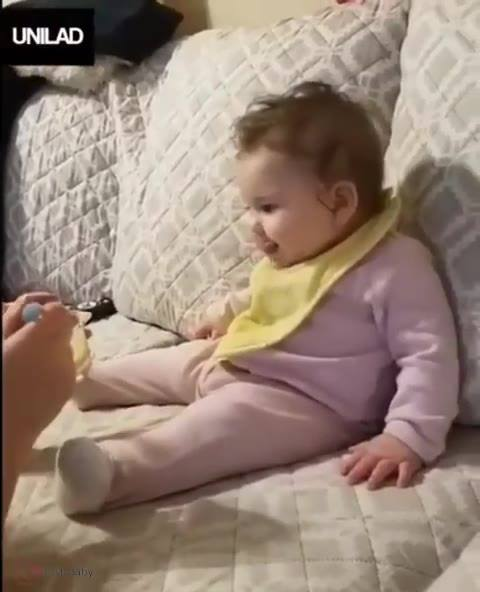 Bebê Fazendo Careta