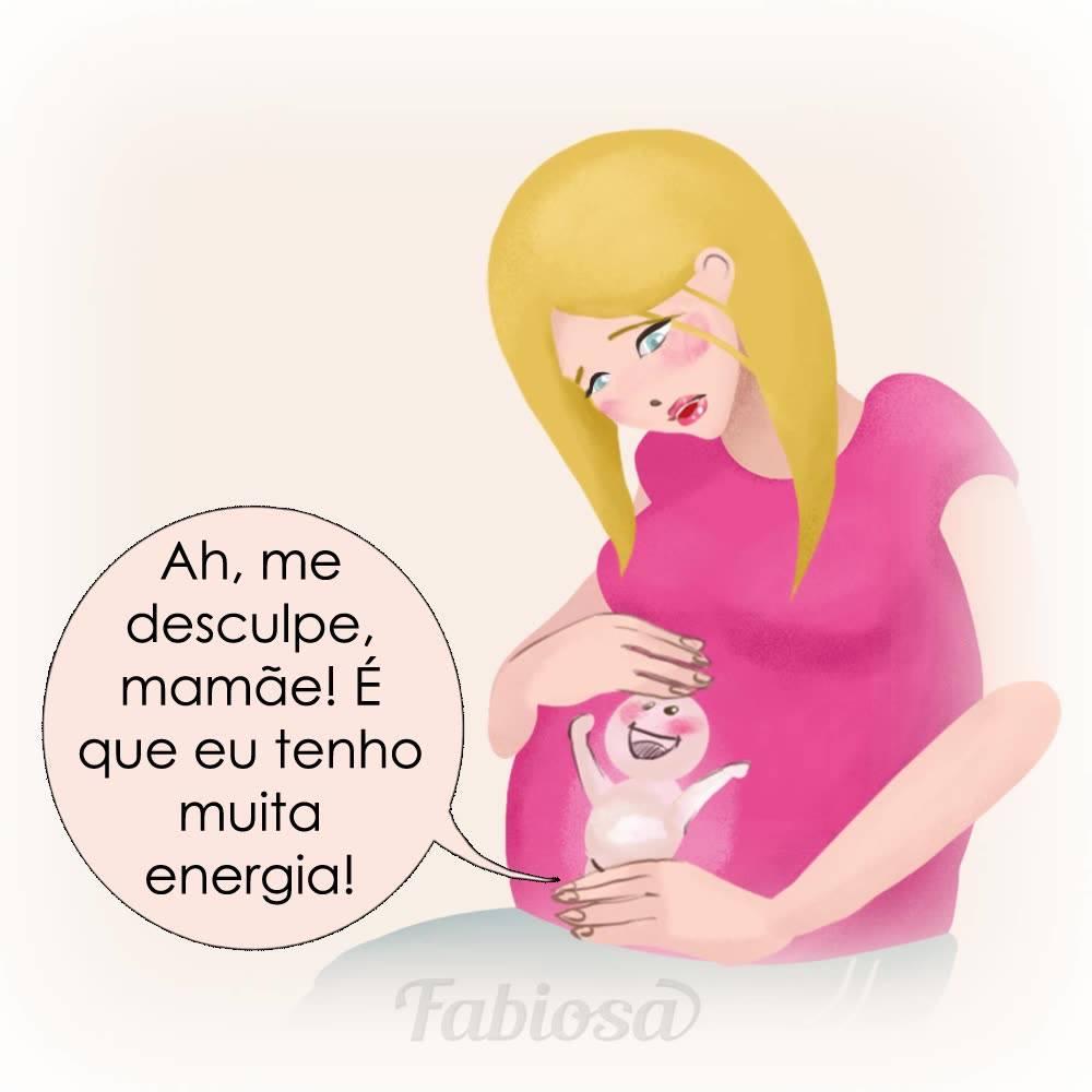 Se Bebê Pudesse Falar Desde O Começo Da Sua Concepção Até O Parto Seria Assim!