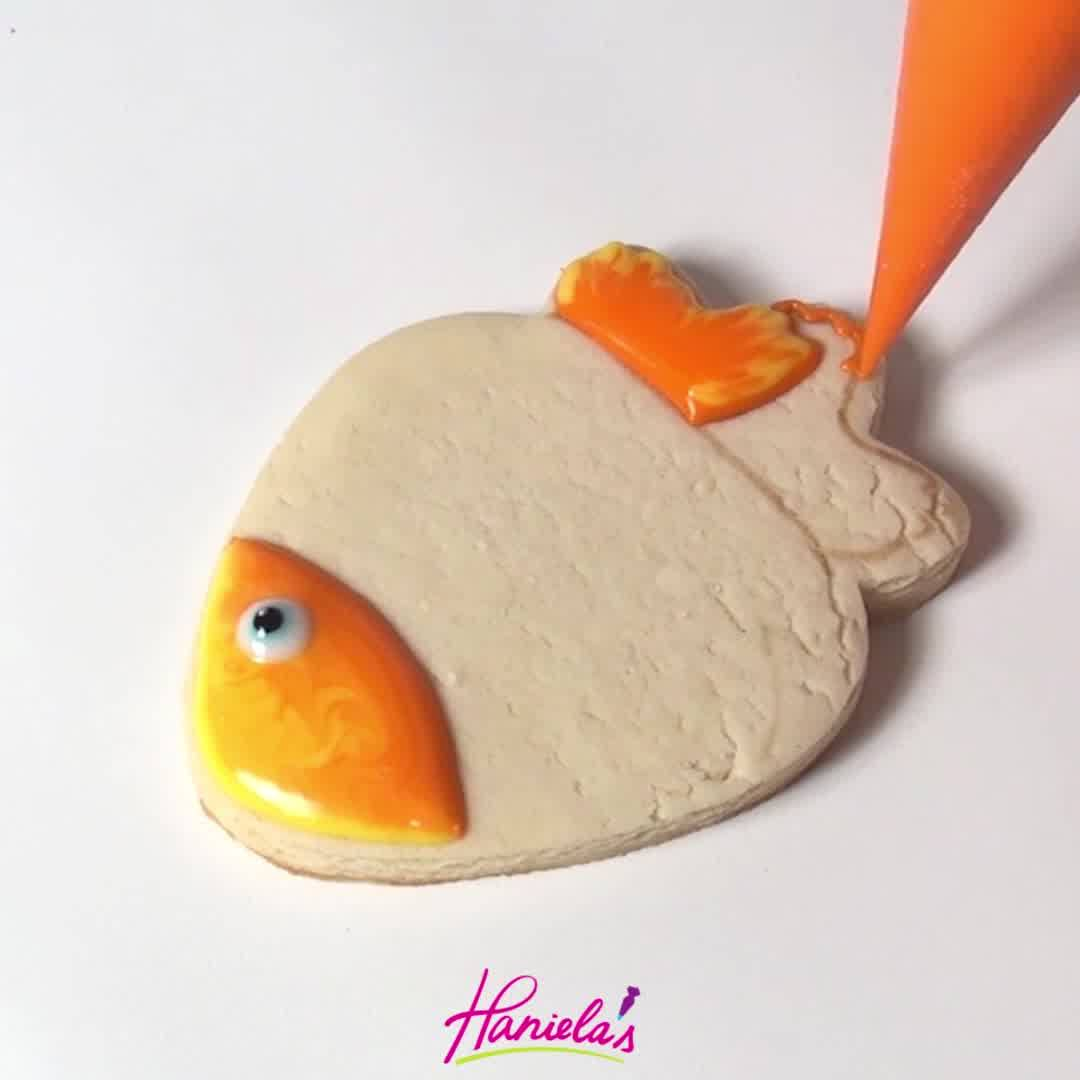 Biscoito Com Decoração De Peixinho, Que Coisa Mais Fofinha, Confira!