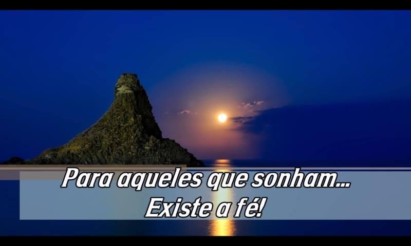 Boa Noite Para Aqueles Que Sonham, E Mantem A Fé!