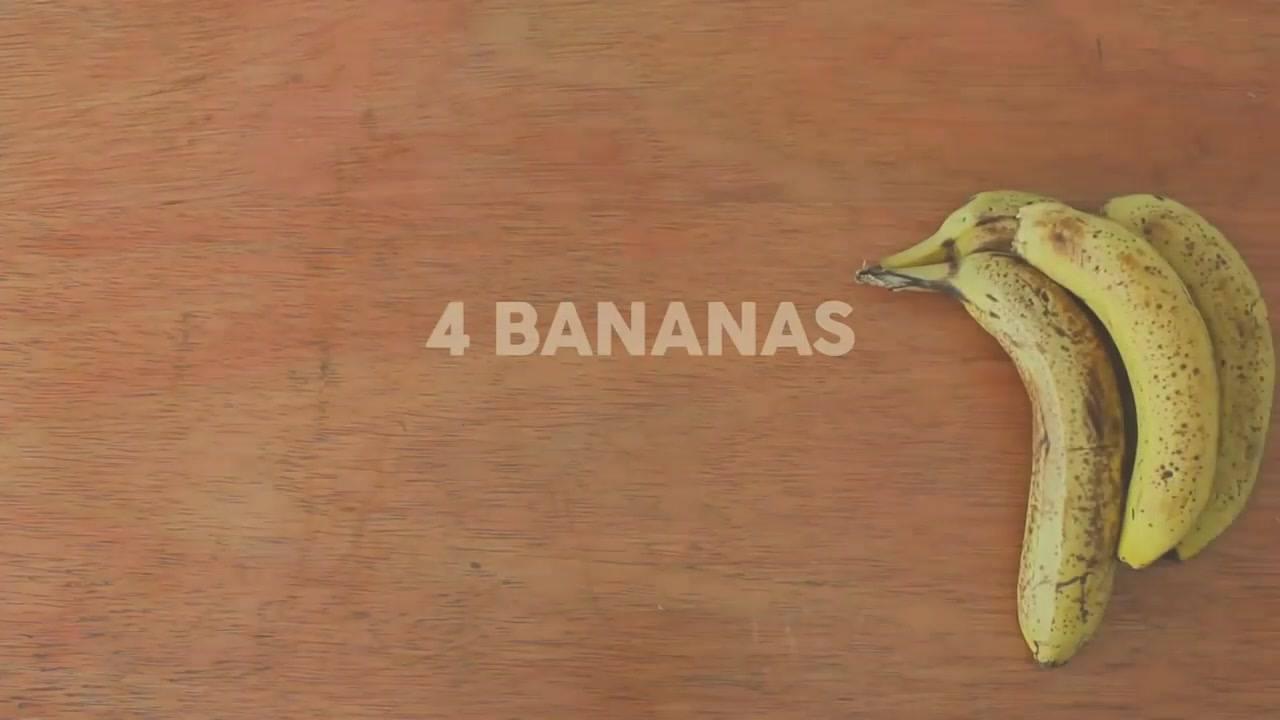 Bolo De Banana Fit, Super Fácil De Fazer, Além De Ser Muito Saudável!