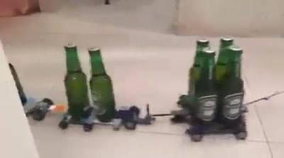 Enceradeira Que Serve Cerveja, Alguém Deseja Ter Uma Dessa Em Casa? Kkk!