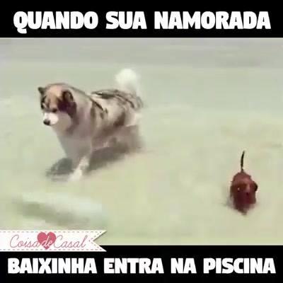 Baixinho Na Água!