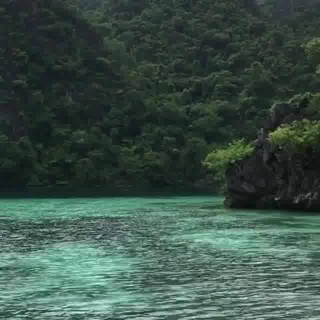 Vídeo Mostrando Linda Paisagem De Ilha Cercada Por Água Cristalina!!!